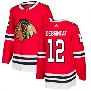Youth Alex DeBrincat Chicago Blackhawks Adidas Authentic Red Home Jersey